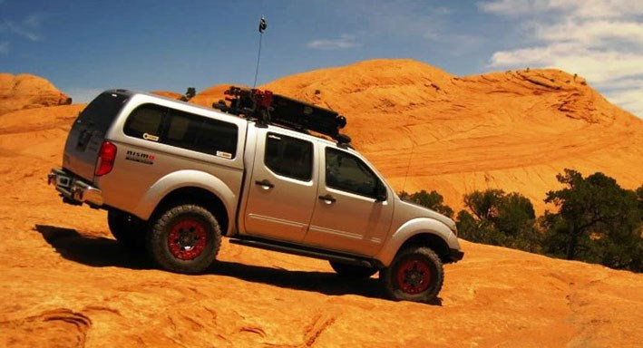 & Nissan Truck Caps and Tonneau Covers | SNUGTOP