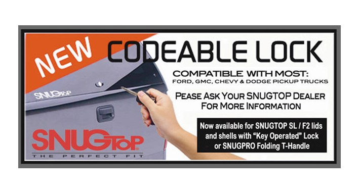 Camper Shell T Handle Lock