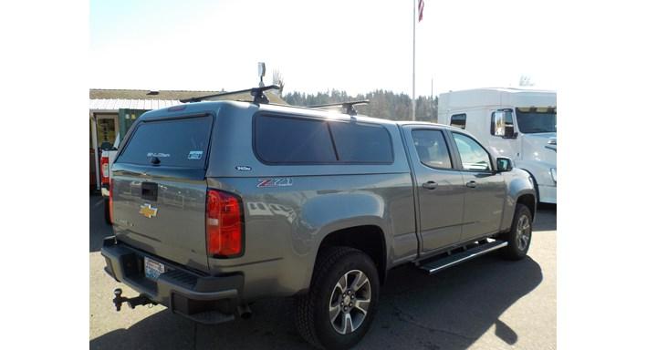 Chevy Colorado Tonneau Cover >> Truck Caps, Tonneau Covers, Camper Shells & Toppers | SNUGTOP