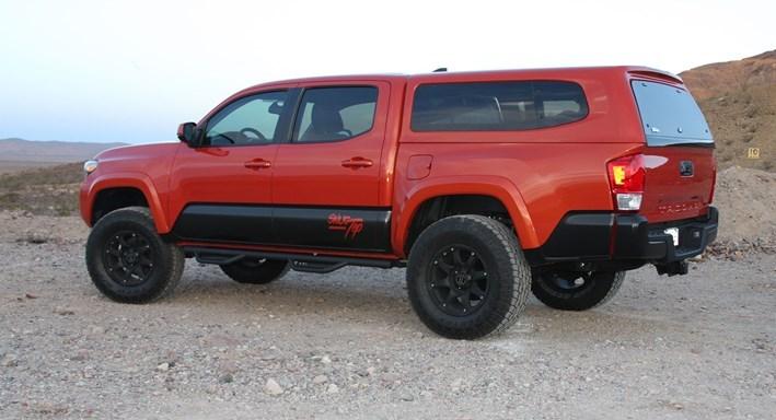 Toyota Tacoma Topper >> Truck Caps, Tonneau Covers, Camper Shells & Toppers | SNUGTOP